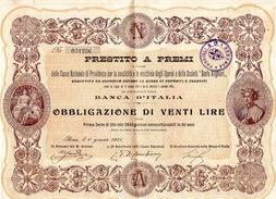 Prestito A Premi 1905 - Banca & Assicurazione