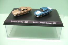 Lot Coffret De 2 NOREV RENAULT CARAVELLE : 1960 Et BUTAGAZ 1961 - HO 1/87 - Echelle 1:87