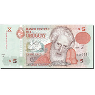 Uruguay, 5 Pesos Uruguayos, 1998, KM:80a, 1998, NEUF - Uruguay