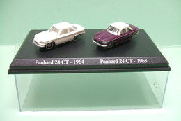 Lot Coffret De 2 NOREV PANHARD 24 CT De 1963 Et 1964 - HO 1/87 - Echelle 1:87