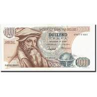 Belgique, 1000 Francs, 1962, KM:136a, 1962-09-27, TTB+ - [ 2] 1831-... : Belgian Kingdom