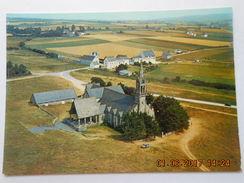 CP 29 PLONEVEZ PORZAY PLOEVEN Vers Plomodiern - SAINTE ANNE De PALUD - La Chapelle , Les Arbres Devant Le Porche 1973 - Plomodiern