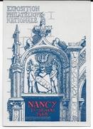1948 - CARTE ENTIER TYPE GANDON De L'EXPO PHILATELIQUE De NANCY (MEURTHE ET MOSELLE) - Postal Stamped Stationery