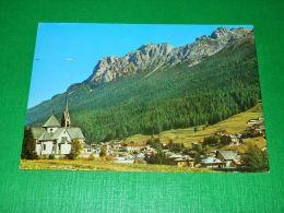 Cartolina Moena - Val Di Fassa - Panorama 1985 - Trento
