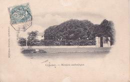 Bg - Cpa Conakry - Mission Catholique (Cachet Maritime à Date LOANGO à BORDEAUX Octogonal 1903) - Guinée Equatoriale