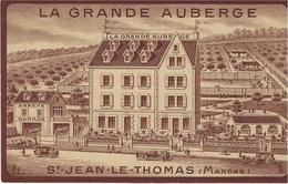 SAINT-JEAN-LE-THOMAS (50) - LA GRANDE AUBERGE - Altri Comuni