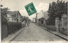 MONTIGNY ... LA RUE DE CORNEILLE - Montigny Le Bretonneux
