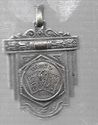 CLUB SOCIAL Y DEPORTIVO ROCAMORA COLONIA LOS CEIBOS PROVINCIA DE ENTRE RIOS MEDALLA CIRCA 1961 SEGUNDO PUESTO CAMPEONATO - Fichas Y Medallas