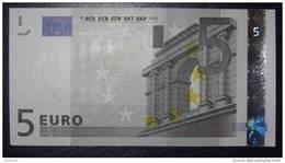 5 EURO E009J3 Netherlands  Serie P  Perfect UNC - EURO