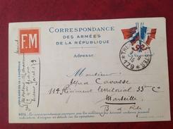 Trésor Et Postes SP 179 - Marcophilie (Lettres)