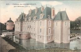CPA Château De Champoulet Par Bléneau 89 Yonne - Other Municipalities