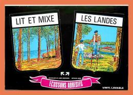 A653 / 275  40 - LIT Et MIXE Ecussons Adhesifs - Frankreich