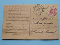 VERNATOL Grand Place BOOM Anti Rouille ( Prix Courant ) Anno 1925 > Frasnes-lez-Buissenal ( Zie Foto Details ) !! - Commerce