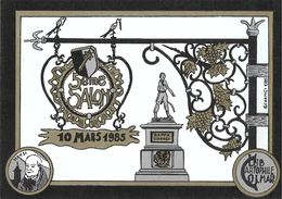 ILLUSTRATEUR SCHANGI SALON  COLMAR 1985 - Künstlerkarten
