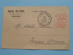 Charles DELTENRE Rue D'Ogy 80 LESSINES ( Relevé De Compte ) Anno 1931 > Frasnes-L-Couvin ( Zie Foto Details ) !! - Autres