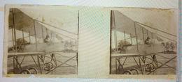 TRES RARE !  7 MARS 1911 Plaque Photo AVIATION Grand Prix Michelin Aviation Eugéne Rénaux - Plaques De Verre