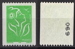 FRANCE 2005 -  Y.T. N° 3742 / NUMERO - NEUF / SANS GOMME - / FD4 - Neufs