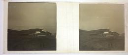 TRES RARE!!   7 MARS 1911 Plaque Photo AVIATION Grand Prix Michelin Aviation Biplan Farner Puy De Dome - Plaques De Verre