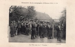 """V9757 Cpa 68 Souvenir De La Campagne D'Alsace 1914-15-16 , Le Tir Sur Le """" Taube"""" - Frankreich"""