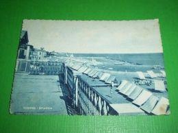 Cartolina Viserba - Spiaggia 1950 Ca ++ - Rimini