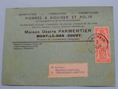 Maison Désiré PARMENTIER Mont-Le-Ban (Gouvy) Anno 1937 > Frasnes-lez-Couvin ( Zie Foto Details ) !! - Magasins
