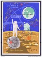 Mongolia 1969 Space Apollo 11 S/s MNH - Space