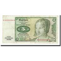 République Fédérale Allemande, 5 Deutsche Mark, 1970-1980, KM:30a - [ 7] 1949-… : RFA - Rep. Fed. De Alemania