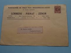 LEMMENS - PIRNAY - ZENON Liège / Gembloux ( Toiles ....... ) Anno 1925 > Frasnes-lez-Couvin ( Zie Foto Details ) !! - Magasins