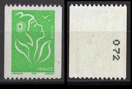 FRANCE 2005 -  Y.T. N° 3742 / NUMERO - NEUF / SANS GOMME - / FD36 - Ungebraucht