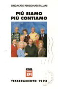 B 783 -  Sindacati SPI-CGIL - Sindacati