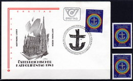 ÖSTERREICH 1983 - Katholikentag St Gabriel Wien - FDC / Postfrisch ** / Gestempelt Used - Christentum