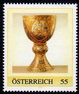 ÖSTERREICH 2008 ** Tassilokelch, Stift Kremsmünster - PM Personalized Stamp MNH - Christentum