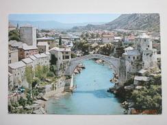 Postcard  Mostar The Old Bridge Stari Most Bosnia & Herzegovina My Ref B11245 - Bosnia And Herzegovina