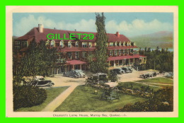 MURRAY BAY, QUÉBEC - CHAMARD'S LORNE HOUSE - ANIMATED WITH OLD CARS - PECO - - Autres