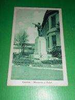 Cartolina Caccivio ( Como ) - Monumento Ai Caduti 1928 - Como