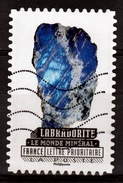 France, Mineral, Labradorite, 2016, VFU - France