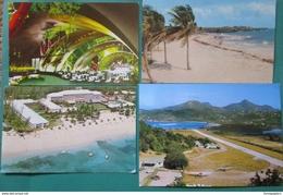 Caraibes Lot 4 Cp Cuba Barbades Bahamas Gaudeloupe Voir Photos - Cartes Postales