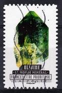 France, Mineral, Olivine, 2016, VFU - Frankrijk