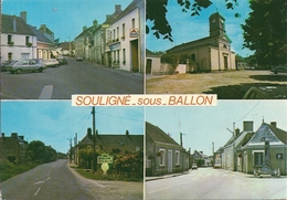 SOULIGNE SOUS BALLON    MULTIVUES    ANNEE 1984 - France