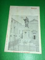 Cartolina Bagnorea - Monumento S. Bonaventura 1906 - Viterbo