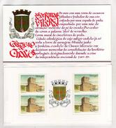 Portugal Booklet Portuguese Castles And Coats Of Arms Af 63 OG MNH** (T) - Markenheftchen