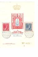 Grand Duché De Luxembourg  Bloc Feuillet Sans Gomme Caritas 1945 C.Luxembourg 14/4/45 AP1072 - Blocs & Feuillets
