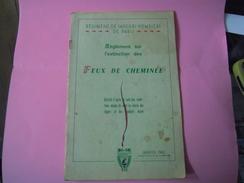 REGLEMENT De L'ECOLE DES SAPEUR POMPIERS - Firemen