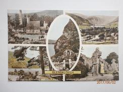 Postcard Glendalough Co Wicklow Multiview By Valentine's My Ref B11253 - Wicklow