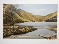 Postcard Glendalough Co Wicklow Upper Lake By E & S Ltd Signal Series My Ref B11255 - Wicklow