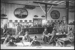 Carte Postale. Première Guerre Mondiale. Croix-Rouge Américaine. Cantine Des Permissionnaires - Guerre 1914-18