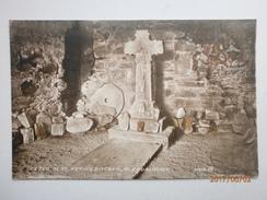 Postcard Glendalough Co Wicklow Cross In St Kevin's Kitchen By Valentine's My Ref B11258 - Wicklow