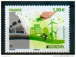 France 2016 - Europa 2016, Pensez En Vert / Think Green  - MNH - 2016