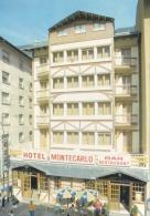 ANDORRE :  ENCAMP :  Hotel Montecarlo - Andorre