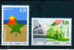 Luxembourg 2016 - Europa 2016 - Think Green - MNH - Europa-CEPT